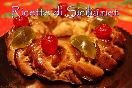 ricette per natale Sicilia Buccellato-cucciddatu