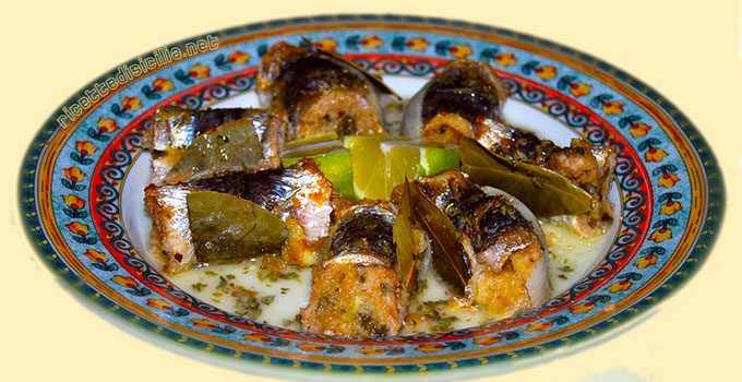 Involtini di sarde alla siciliana