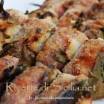 Sicilian Meat Roll   Recipe for Involtini