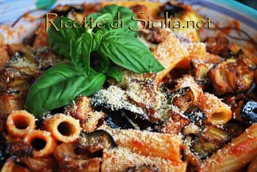 Primi piatti Siciliani  Pasta-alla-norma