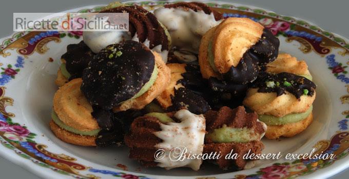 Biscotti da dessert excelsior