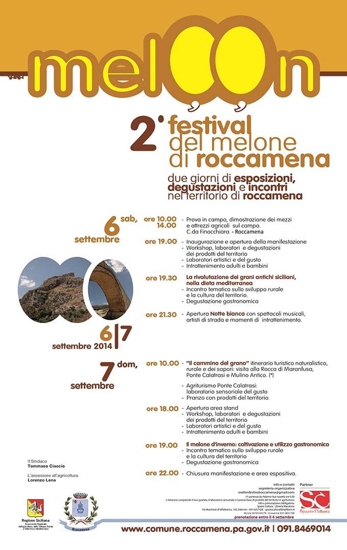 Locandina Meloon Festival 2014