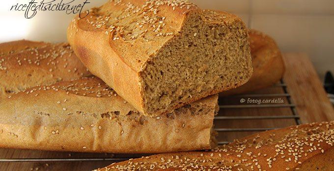 Pane con farina bidì e lievito madre